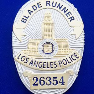 Blade Runner Polizeimarke
