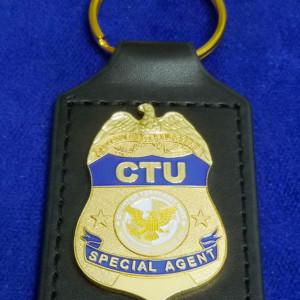 CTU Badge Schlüsselanhänger