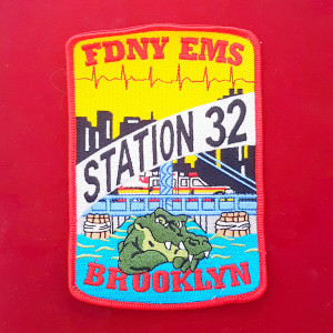 Patches Feuerwehr New York