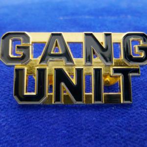 Gang Unit Anstecker