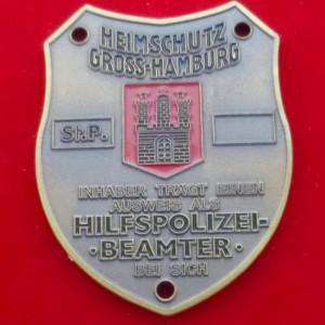 Heimschutz Gross-Hamburg Polizeimarke