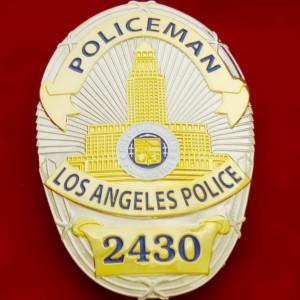 L.A.P.D. Policeman 2430 Polizeimarke