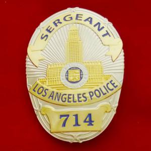 L.A.P.D. Sergeant – 714 Polizeimarke