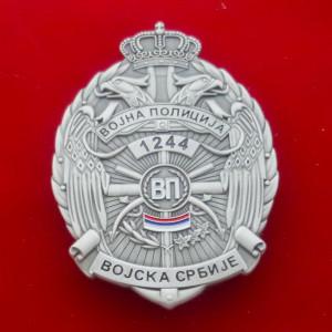 Militärpolizei Serbien MP Dienstmarke