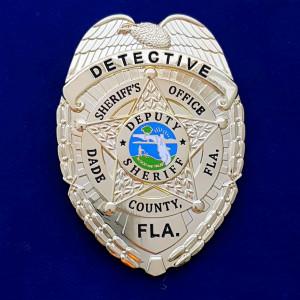 Miami Dade Detective Polizeimarke