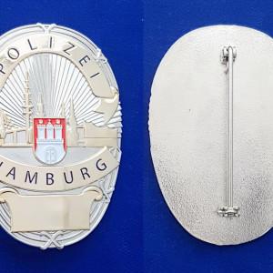 Polizei Hamburg Polizeimarke