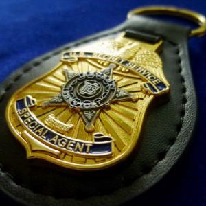 Anhänger US Police