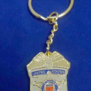 Secret Service -Metall- Schlüsselanhänger