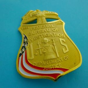 FBI 100th Anniversary Polizeimarke