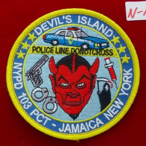 NY Police Patch #01