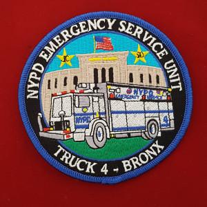 NY Police Patch #09