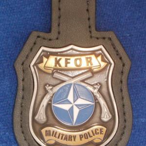 Brustanhänger KFOR Military Police