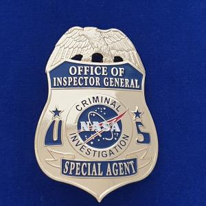 N.A.S.A. Ermittler Polizeimarke