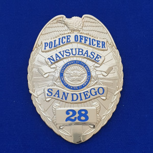 San Diego Navsubase (gold) Polizeimarke