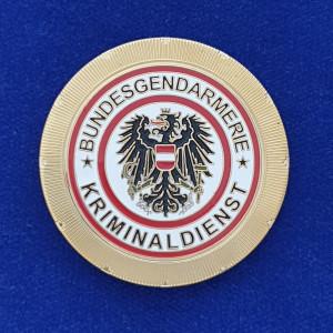 ehemalige Dienstmarke Bundesgendarmerie Österreich
