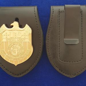 NCIS Polizeimarke mit Lederhalter ( Navy CIS )